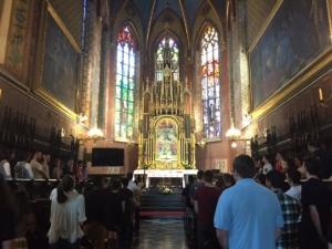 Franciscan Church 1st Mass