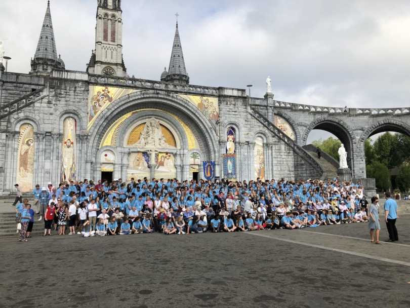 BCYS celebrates 40th anniversary Lourdes pilgrimage