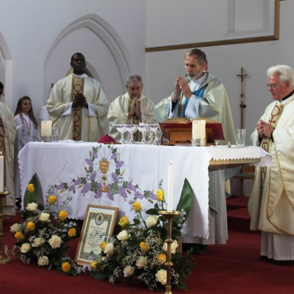 Tilbury centenary Mass