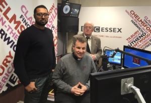 Ayman Syed from Chelmsford Mosque and Chris Thompson were interviewed on BBC Essex by Fr Dominic Howarth