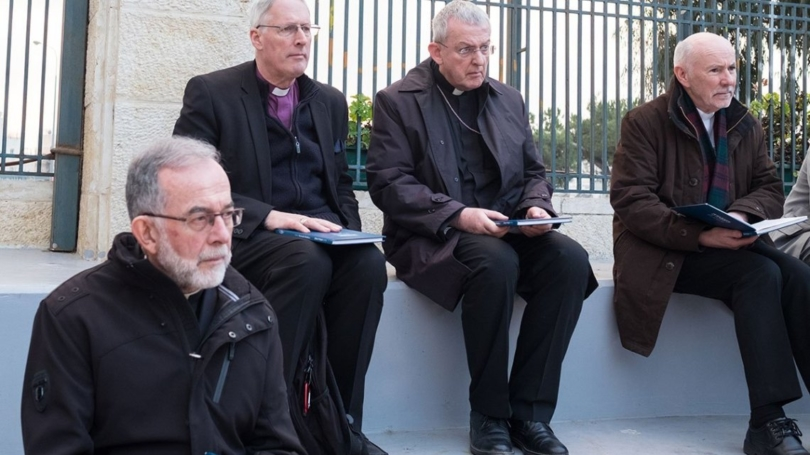 Bishop Lang and Bishop Chessun in the Holy Land