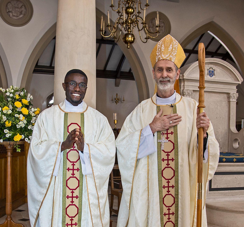Bishop and Fr Paschal