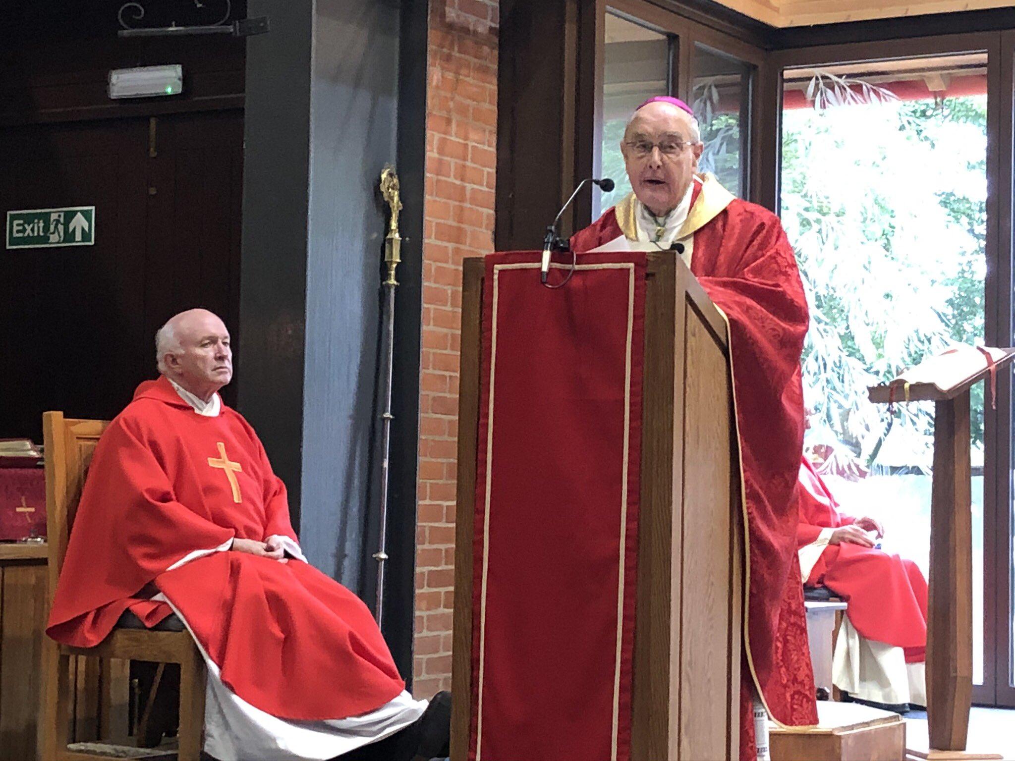 Bishop Hopes talks about Mgr John