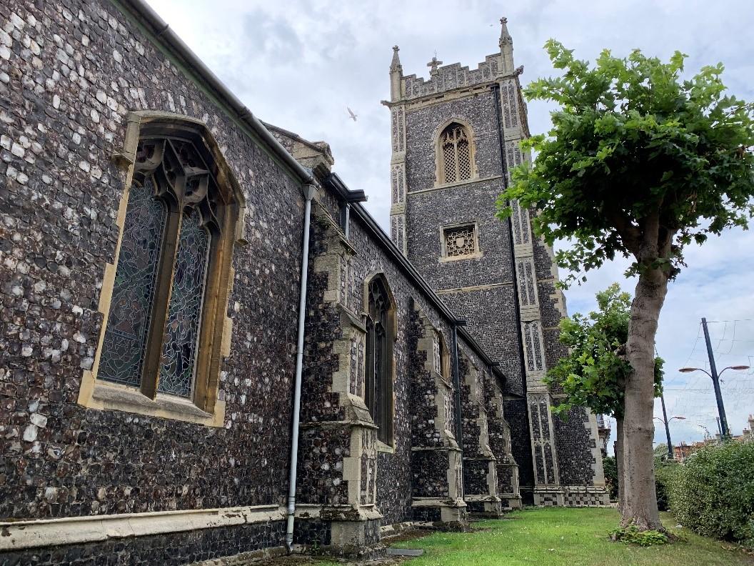 St Mary's, Gt Yarmouth (Caroe Architecture Ltd)