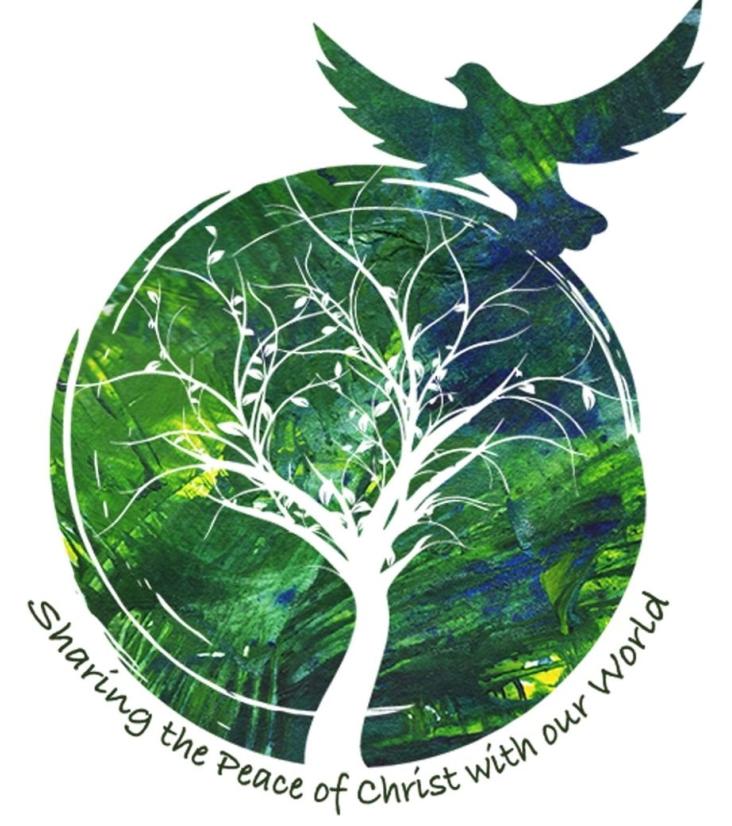 Pax Christi world, tree, bird